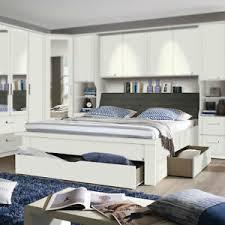 details zu bettanlage lindau bett doppelbett schlafzimmer in weiß mit stauraum 180x200 cm