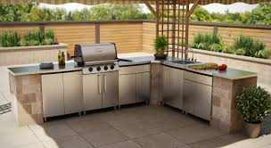 Outdoor Kitchen Cabinet Awesome Outdoor Kitchen Cabinets Stainless