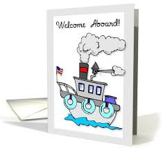 New Employee Wel e Aboard to the Team card Personalize any greeting card for no additional cost Product ID