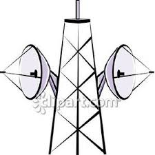 Tower clipart microwave tower 2