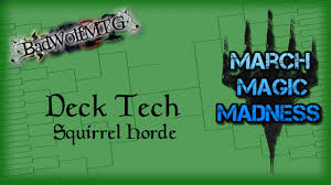 Deathtouch Deck Standard 2015 by March Magic Madness Deck Tech Squirrel Horde Youtube