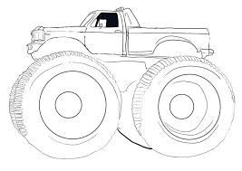 Perfect Monster Trucks Coloring Pages 31 With Additional Online