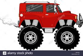 Illustration Of Big Wheels Red Monstertruck Cartoon Isolated On ... Monster Truck Stock Vector Illustration Of Illustration 32331392 Cartoon Truck Oneclick Repaint Stock Vector Art More 4x4 Isolated On White Background Photo Extreme Sports Royalty Free Image Off Road Car Looking Like Monster Cartoons Videos Search Result 168 Cliparts For Stunt Cartoon Big Trucks Off Road Images Clipart The Best Of Monster Trucks Cartoon Compilation Town 55253414
