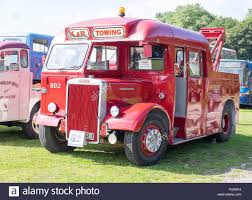 100 Rally Truck For Sale Vintage Bus Break Down Truck On Display At Vintage Rally Stock Photo