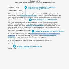 Sample Reference Letter For A Student Employee Example Good Resume