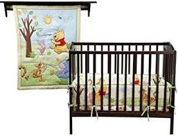 Amazon Winnie the Pooh PORTABLE CRIB Bedding 3 pc Set