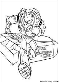Buzz Toy Story In The Mission Coloring Pages