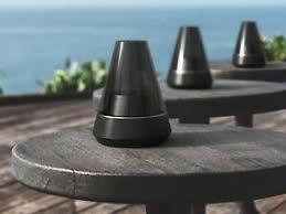 details zu schwarzer bluetooth lautsprecher mit ölle moderne dekolen fürs wohnzimmer