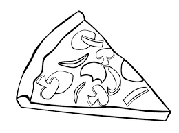 Pizza coloring sheet free pizza coloring pages for kids coloringstar print coloring pages amazing Coloring Inspiring ideas