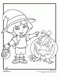 Nick Jr Coloring Pages Spectacular Halloween