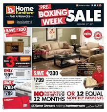 Home Furniture Boxing Day Flyer Sales And Deals Canada 2013