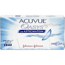 ACUVUE OASYS For ASTIGMATISM Contact Lenses Luraypagefreepress