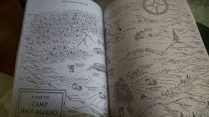 The Percy Jackson Coloring Book Is Pretty Cool It Basically Tells Story Of Lightning Thief Here Are A Few My Favorites