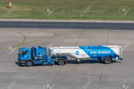 100 Fuel Trucks Berlin Germany April 21 2018 Truck From Aral Aviation