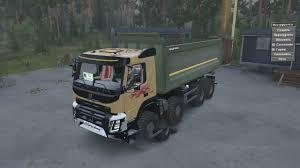 100 Truck 2014 Volvo FMX 8x8 V1 MudRunner SnowRunner Spintires