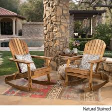 Christopher Knight Home Malibu Outdoor Adirondack Rocking Chair (Set Of 2)  By Diy Outdoor Fniture Rocker W Shou Sugi Ban Beginner Project Craftatoz Classic Rocking Chair Walnut Wooden Royal Wood Living Room Home Garden Lounge Size Length 41 Inches Width Tadeo Quandro Style Amazoncom Priya Patio Handcrafted Chairs Vermont Woods Studios Charleston Cracker Barrel Sheesham Thonet Porch W Cushion The 7 Best Of 2019 Famous For His Sam Maloof Made That