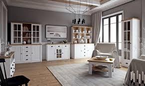 easy möbel wohnzimmer komplett set a segnas 8 teilig farbe kiefer weiß eiche braun