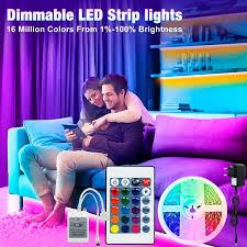 hallo lumix 5m rgb smd2835 dc12v led streifen beleuchtung 24key ir controller wohnzimmer schlafzimmer fernbedienung beleuchtung farbe