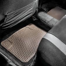 BESTFH: Ruber Gray Floor Mats & Black Cargo Met Set For Auto SUV ...