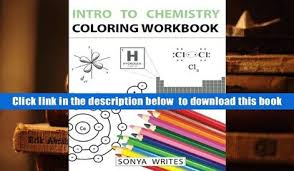 PDF Intro To Chemistry Coloring Workbook Sonya Writes For Ipad