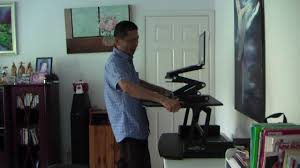 Standing Desk Top Extender Riser by Sit Stand Desks Review Youtube