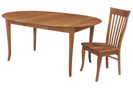 Round Flare Leg Extension Dining Table By Lyndon Furniture