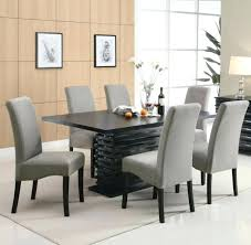 Grey Dining Room Chairs Chair Table With Delectable Decor