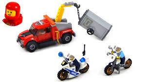 Lego City 60137 Tow Truck Trouble Lego Speed Build - YouTube