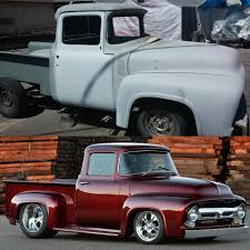 Our 1956 #BSI #X100 Starts Out With An Original #Ford #F100 Body And ... Ford Pickup F100 1952 Hotrod V8 Engine Ratrod Classic American 88 98 Chevy Truck Parts My Lifted Trucks Ideas Classic Gmc For Sale On Classiccarscom Fleet Homepage Vintage Car Accsories Ebay Motors Ford Tin Sign Bundle Motor Co Historic Logo Amazoncom Max 1979 F150 Die Cast Toys Games Second Time Round Auto Kings Cab Over Engine Coe Scrapbook Jim Carter Of America Hot Rod Network Keystone Toy Offical Website Free Appraisals Muscle Blogs Custom Shows