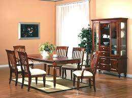 Cherry Wood Dining Room Table Set Bench An Alluring