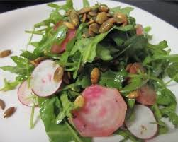 Toasting Pumpkin Seeds In Microwave by Roasted Beet And Arugula Salad With Toasted Pumpkin Seeds Recipe