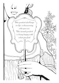 The Greatest Challenge Of Lifebr Is Discovering Who You Are More Coloring Pages Zen Quotes