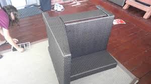 Ty Pennington Patio Furniture Parkside by Brianna Putting Patio Furniture Together Youtube