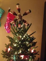 Diy Nightmare Before Christmas Tree Topper by Beer Bottle Tree Topper Diy Pinterest Bottle Trees Tree