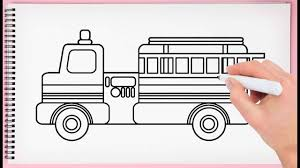 99 How To Draw A Fire Truck Step By Step To Easy Learn Ing Very Simple And
