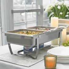 8 Piece Foldable Frame Buffet Chafer Set