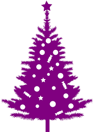 Christmas Tree Silhouette