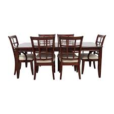 86% OFF - Klaussner Klaussner International Extendable Leaf Wood ... Klaussner Intertional Ding Room Reflections 455 Regency Lane 5 Piece Set Includes Table And 4 Outdoor Catalog 2019 By Home Furnishings Issuu Delray 24piece Hudsons Melbourne Seven With W8502srdc In Hackettstown Nj Carolina Prerves Relaxed Vintage 9 Pc Leather Quality Patio Sycamore Chair Lastfrom Fniture Exciting Designs Unique Perspective Soda Fine Mediterrian Reviews For Excellent