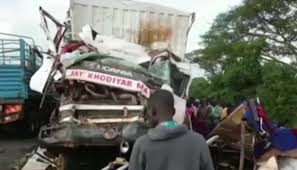 Bus And Beer Truck Crash Kills 22 In Uganda | Newshub Driver Inattention Eyed In Deadly Hwy 401 Triple Commercial Truck 3 Semitruck Crash Due To Snarls Blaine Crossing No Lifethreatening Injuries Loggingtruck That Closed Video Semitruck Loses Control Crashes Into Gas Station Cajon Charged On Qew Burlington 570 News Hard Stock Photo Image Of Cars Highway Negligent 733980 Highway Delays After Otago Daily Times Online News Tesla Model S Firetruck California What We Know So Far Man Injured When Suv And Box Lancaster Township 2 The Molokai Update Two Killed N1 Container Cape Argus New Jersey School Bus Crashes Dump Truck Time