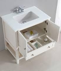 Pedestal Sinks For Small Bathrooms by Bathroom Vanity Cabinet For Pedestal Sink All White Vanity