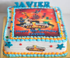 Izah s Kitchen Power Ranger Samurai Cake