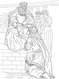 Esther Before King Ahasuerus Coloring Page From Queen Category Select 27237 Printable Crafts Of Cartoons Nature Animals Bible And Many More