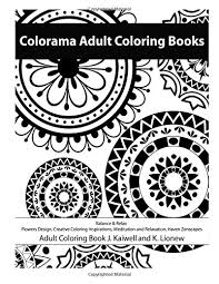 Colorama Coloring Book Flowers