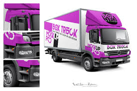 100 Truck Designs Box Mockup