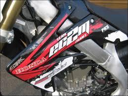kit deco crf 250 kit déco pour moto 250 crf merel road