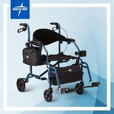 Transport Chair Walmart Canada by Excel Translator Rolling Walker Wheelchair By Medline