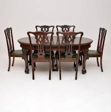 Antique Mahogany Chippendale Style Dining Table & Six Chairs (1910 ... Canberra Antique Auctions Shop Attic Imports Queen Anne Style Ding Ref No 08992 Regent Antiques Sold Out Henredon Rittenhouse Square Mahogany Chippendale Ball In And Vintage Fniture Online Store Wimbledon Auktion Art Am 14042010 Lotsearchde Vintage Antique Amazoncom Design Toscano Cupids Bow Chairs Armchair Ding Table By 09281b Edwardian And 8 With Claw Feet Circa Mersman 7211 Oval Drum Harp With Drawer England Room 439 For Sale At 1stdibs