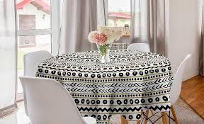 abakuhaus tischdecke kreis tischdecke abdeckung für esszimmer küche dekoration boho abstrakt primitive kaufen otto