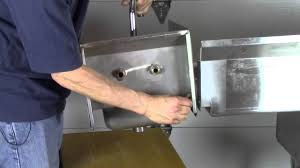 Mobile Self Contained Portable Electric Sink by How To Build A Portable 3 Compartment Concession Sink Youtube
