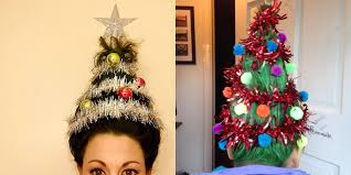 Christmas Tree Watering Device Homemade by Christmas Tree Hair Is The New Holiday Beauty Trend How To Do